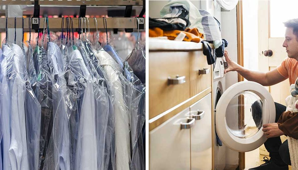 Dry Cleaned vs Washed at Home